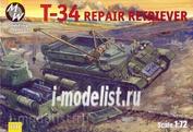 7211 Military Wheels 1/72 Ремонтный танк Т-34/85