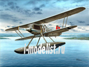 SH48089 Special Hobby 1/48 Биплан Heinkel He 51B-2 Float Fighter