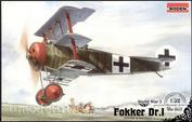 601 Roden 1/32 Fokker Dr. I Aircraft