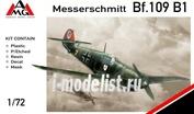 72403 AMG Models 1/72 Самолет Messerschmitt Bf.109B-1