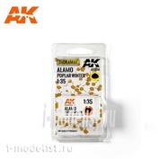 AK8114 AK Interactive 1/35 Зимние листья тополя
