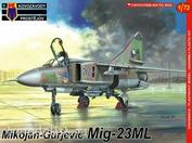 KPM0069 Kovozavody Prostejov 1/72 MiG-23ML