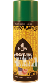 37 Abordage Краска-спрей Сочно-зелёный 400 мл