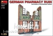 35537 MiniArt 1/35 Руины немецкой аптеки