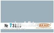 73169 Акан Серый (заводской образец цвета) камуфляжые пятна-1 на верхних и боковых поверхностях самолётов: Суххой-27см