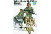00415 Trumpeter 1/35 Modern U.S .Army Ch-47d Crew & Infantry