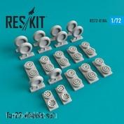 RS72-0184 RESKIT 1/72 Tu-22 смоляные колеса