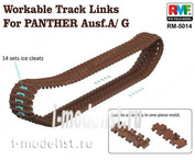 RM-5014 Rye Field Model 1/35 Workable Tracks for Parther A/G