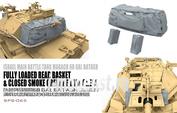 SPS-065 Meng 1/35 Israel Main Battle Tank Magach 6B GAL BATASH Fully Loaded Rear Basket & Closed Smoke Grenade Launchers