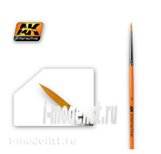 AK603 AK Interactive round Brush ROUND BRUSH 1 SYNTHETIC