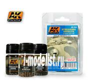AK062 AK Interactive Set for applying effects STREAKS SET SET (set for strips of dirt)