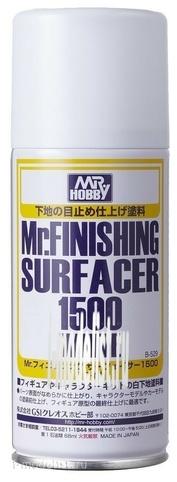 B-529 Gunze Sangyo Primer spray Mr.Finishing Surfacer 1500 White 170ml