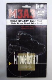 Ag35010 Afvclub 1/35 M3A3 Stuart Light Photo Brass Etched Extra Detail