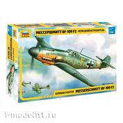 4802 Звезда 1/48 Немецкий истребитель «Мессершмитт» BF-109 F2