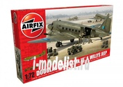 9008 Airfix 1/72 Douglas Dakota MkIII with Willys Jeep