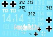 35011 ColibriDecals 1/35 Decal for Pz VI Tiger I - Part I 501,502,505, sPzAbt