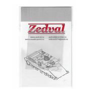 A72001 Zedval 1/72 LDPE for Su-27
