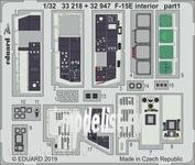 32947 Eduard 1/32 F-15E интерьер
