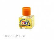 Tamiya 87134 Super liquid glue with a thin stiff brush with lemon scent (40 ml)