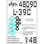48090 SX-Art 1/48 Окрасочная маска L-39C (Trumpeter)