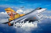 03971 Revell 1/144 Истребитель Lockheed Martin F-16 Mlu TigerMeet