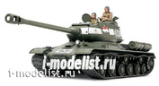 35289 Tamiya 1/35 Soviet heavy tank is-2 (1944), 2 figures, stacked and rubber tracks