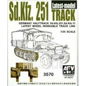 AF35070 AFVClub 1/35 Sdkfz251 TRACK THE LATEST TYPE (WORKABLE)