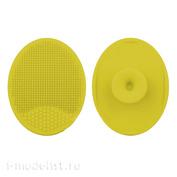 B370-01 yellow MiniWarPaint Коврик для мытья кисти силиконовый, жёлтый