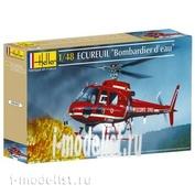 80485 Heller 1/48 Вертолет Ecureuil Bombar Eau