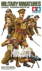 35339 Tamiya 1/35 W.W.I. British Infantry Set