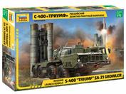 5068 Звезда 1/72 Российский зенитно-ракетный комплекс С-400
