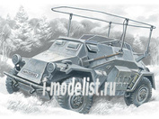 72441 ICM 1/72 Sd.Kfz.261- германский бронеавтомобиль радиосвязи