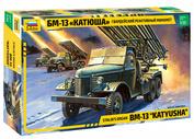 3521 Звезда 1/35 Гвардейский реактивный миномет БМ-13 «Катюша»