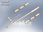 N72025 Zedval 1/72 Set of parts for BTR-82