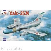 72143 Amodel 1/72 Яковлев Як-25М