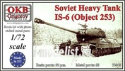 72040 OKB Grigorov 1/72 Soviet Heavy Tank IS-6 (Object 253)