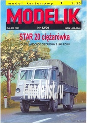 MD12/09 Modelik 1/25 Star 20