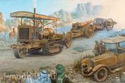 814 Roden 1/35 Артиллерийский трактор Holt 75 w/BL 8-inch Howitzer