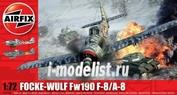 2066 Airfix 1/72 Focke Wulf Fw190 F-8/A-8