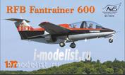 72016 Avis 1/72 Самолет RBF Fantrainer 600