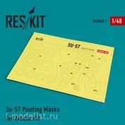 RSM48-0002 Reskit 1/48 Окрасочная маска для Сухххой-57
