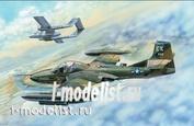 02889 Я-моделист клей жидкий плюс подарок Trumpeter 1/48 US A-37B Dragonfly Light Ground-Attack Aircraft