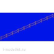 MD70004 Metallic Details 1/700 Фототравление Двухцепочечный рельс с провисаниями