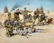 02513 Revell 1/72 German Infantry, Africa Corps WWII