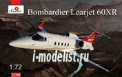 72349 Amodel 1/72 Самолёт Bombardier Learjet 60XR