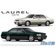 06213 Aoshima 1/24 Nissan GC34 Laurel Medalist V / Club S '93