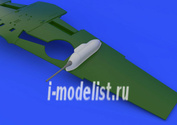 648148 Eduard 1/48 Набор дополнений Bf 109G cannon pods
