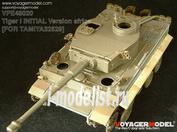 VPE48020 Voyager Model 1/48 Фототравление для Tiger I INITIAL Version africa troop