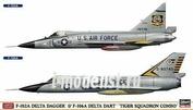 02035 Hasegawa 1/72 Convair F-102A Delta Dagger & Convair F-106A Delta Dart