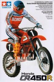 14018 Tamiya 1/12 Honda CR450R Motocrosser